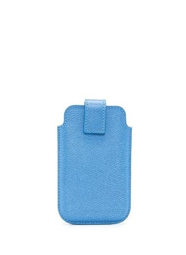 Smythson Cep Telefonu Kılıfı Mavi